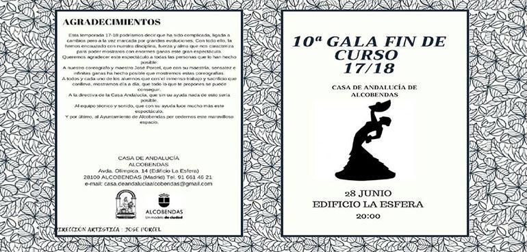 X Gala Fin de Curso 2017/18